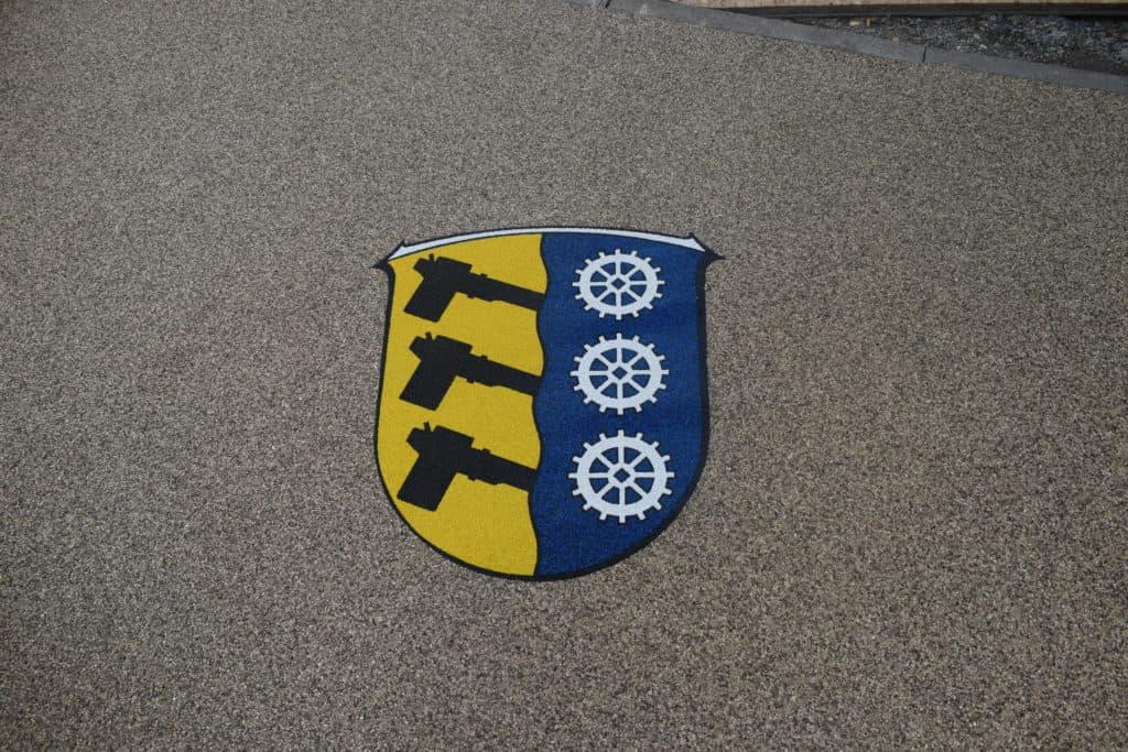 Gemeindewappen der Ortschaft Aschbach