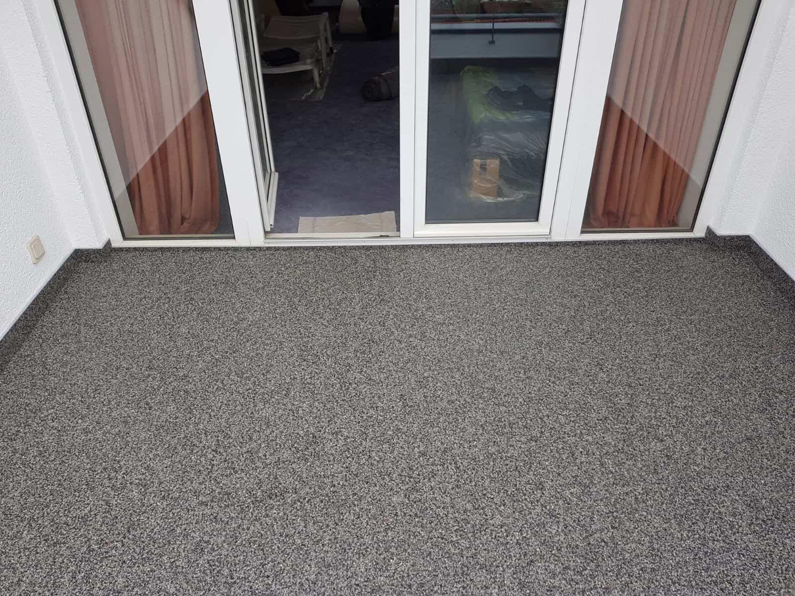 Balkon Fußbodenbelag ~ Ihr neuer balkon mit steinteppich trocken frostsicher und