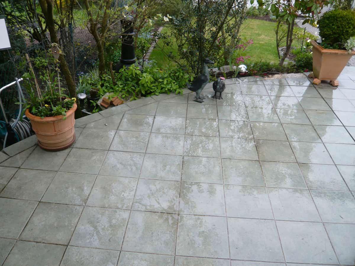 Fugenlos De Exklusive Steinteppiche Terrasse Mit Gartengrundstuck