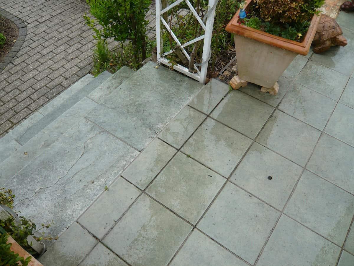 Außenbereich - fugenlos.de - exklusive Steinteppiche- fugenlos