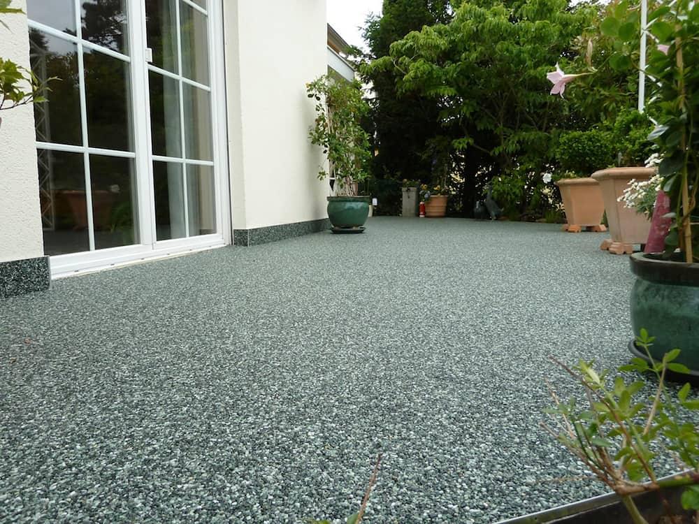 Steinteppich für Ihre Terrasse - fugenlos, frostsicher und leicht zu ...