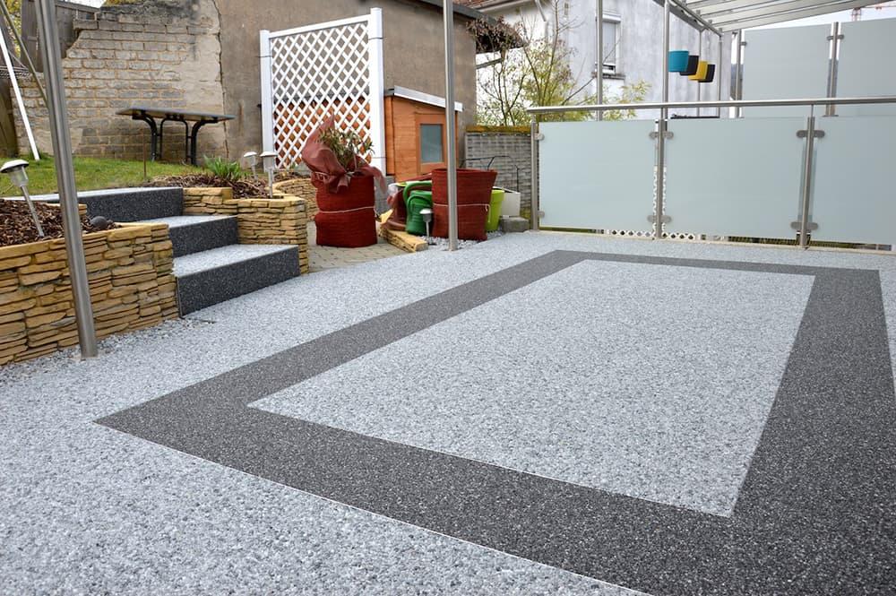 Steinteppich Fur Ihre Terrasse Fugenlos Frostsicher Und Leicht Zu
